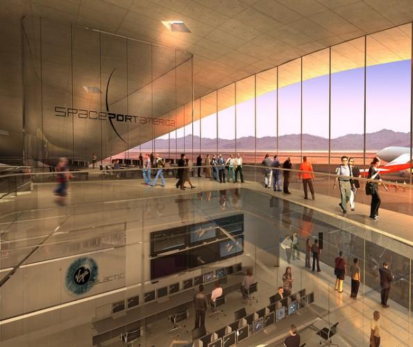 nuevo aeropuerto espacial