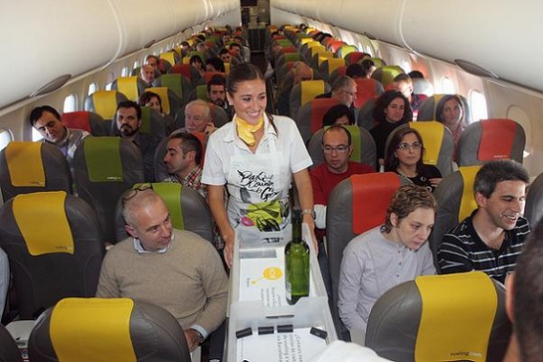 Reserva un asiento con más espacio en Vueling
