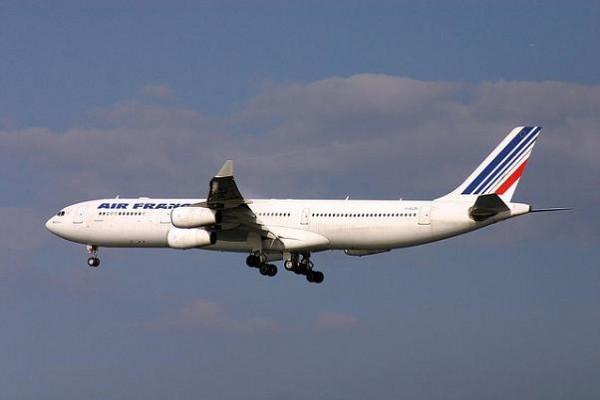 Air France tuvo un avión en mal estado volando