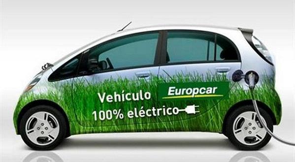 Primeros coches eléctricos de alquiler