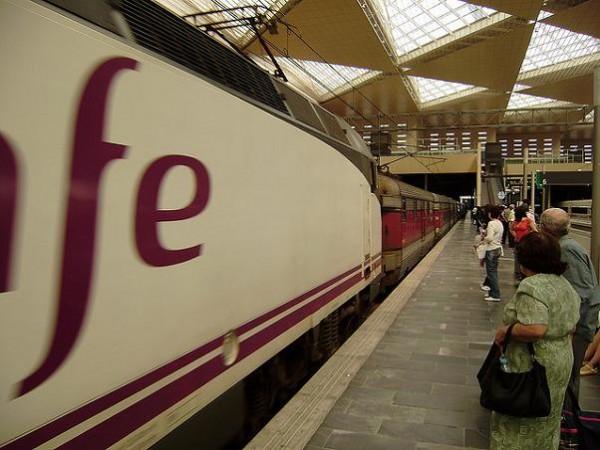 El tren también en huelga esta Navidad