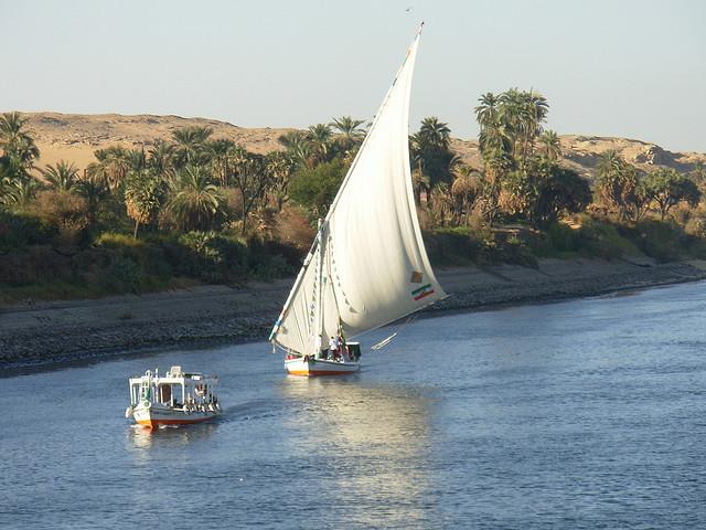 el Nilo nos permite conocer Egipto