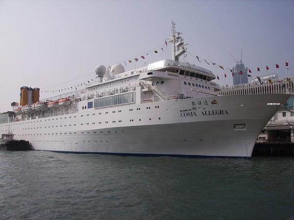 crucero a la deriva