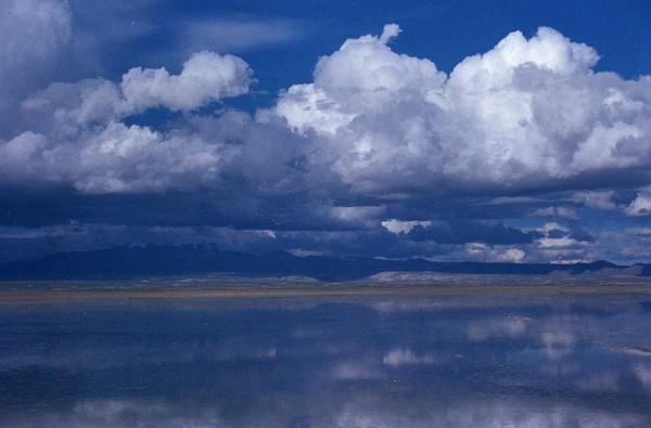 amarse en las nubes