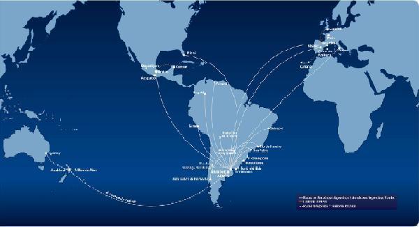 Nuevas frecuencias Buenos Aires - Barcelona con Aerolíneas