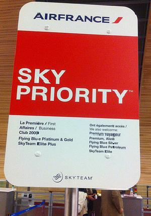 SkyTeam pone en marcha SkyPriority