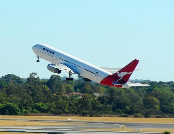 Qantas emplea fuel derivado de aceite de cocina usado