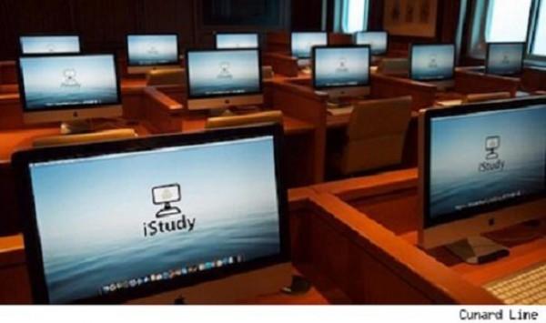 La flota de Cunard lleva el iStudy de Apple