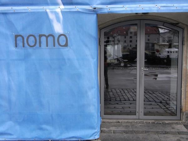 entrada al restaurante noma