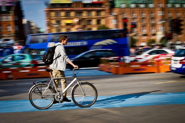 pasear en bici por Copenhague