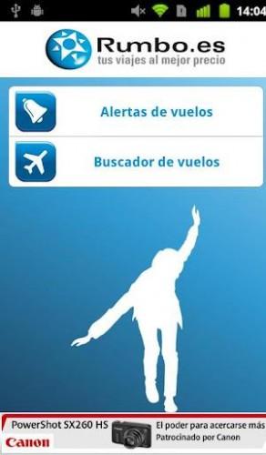 Nuevo servicio de Rumbo de alertas de vuelo