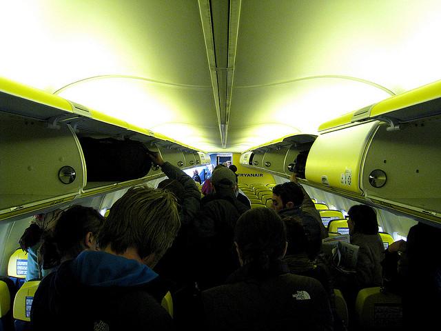 Un nuevo problema de la linea aerea