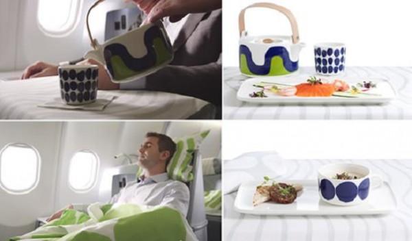 Finnair llega a un acuerdo con la firma de decoración Marimekko