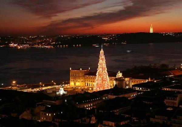 Visitar Lisboa en Navidad