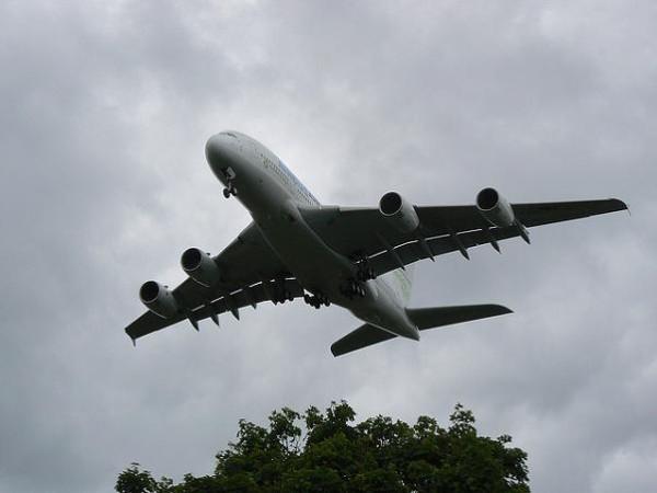 Sorteo de dos plazas en un A380