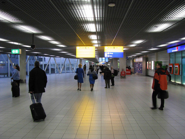Imagen del aeropuerto de Amsterdam