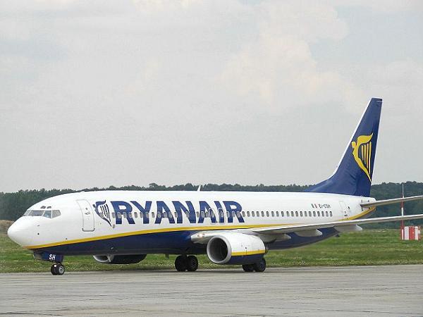 Fallo eléctrico en un avión de Ryanair