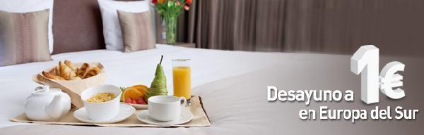 Desayuno buffet de oferta en Novotel
