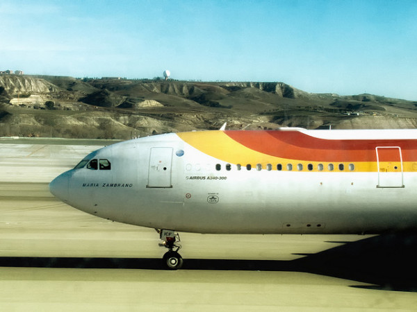 Imagen de avion Iberia