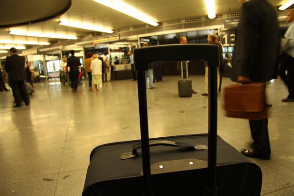 Maletas en aeropuerto