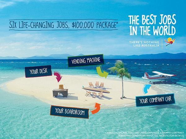 Australia ofrece los seis mejores trabajos del mundo