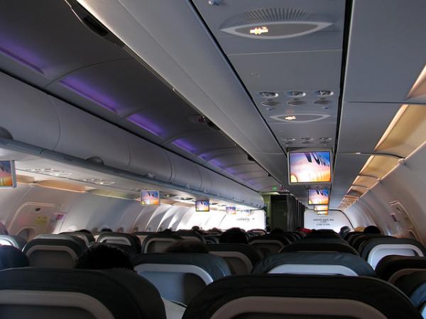 Pasajeros aereos