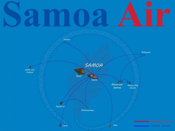 Samoa Air cobra a sus pasajeros según pesan
