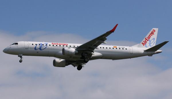 Imagen de un avión de Air Europa