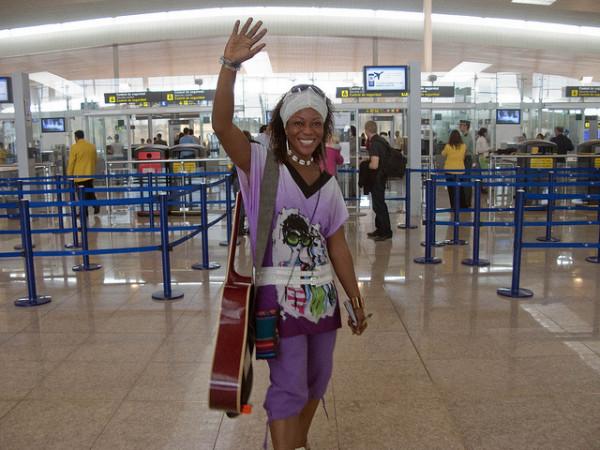 Despedidas en aeropuertos