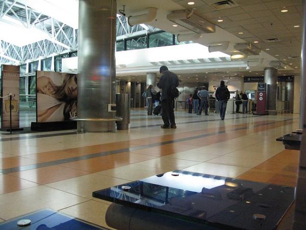 Imagen de un aeropuerto