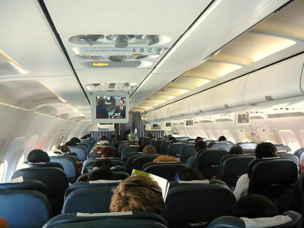Pasajeros de avion
