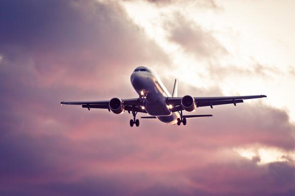 Propagación de los gérmenes en aviones
